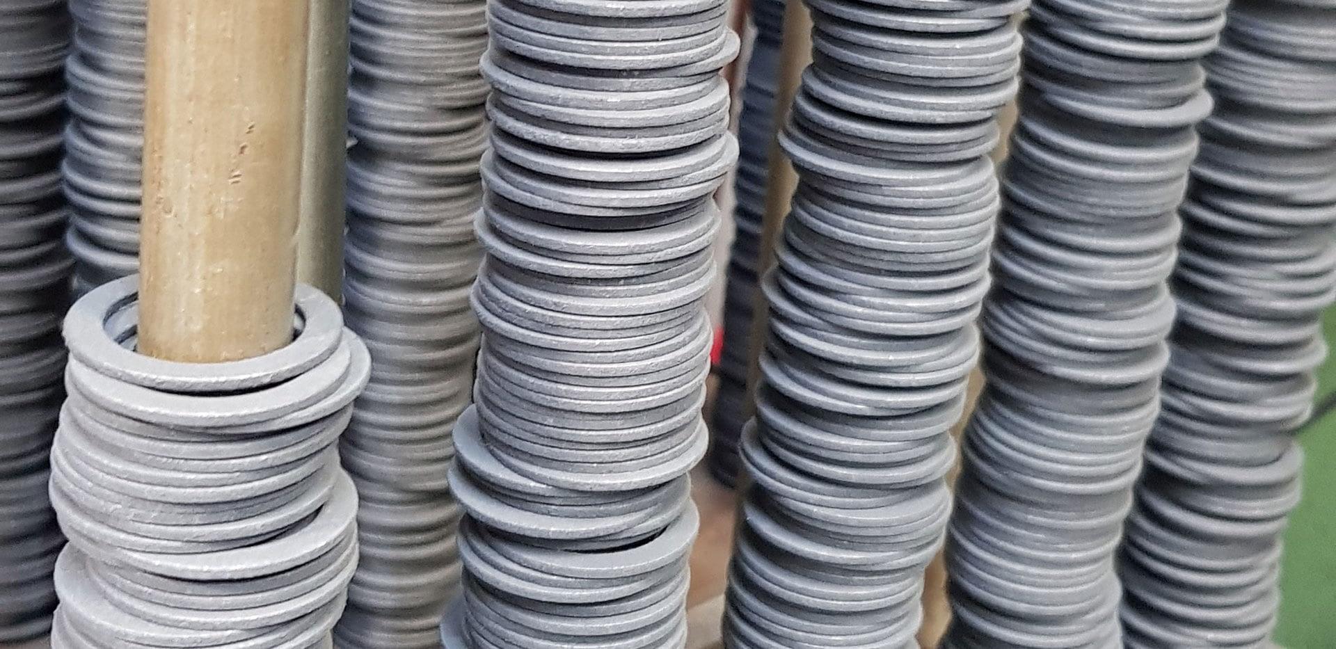 Sovrastampaggio Gomma/Metallo